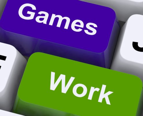 games and work