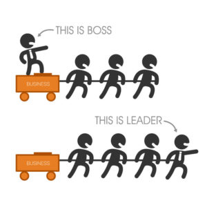 Bosses vs leader